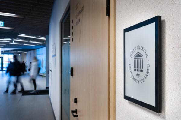 University of Tartu ePaper Digital Signage